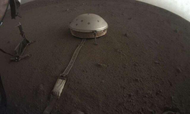 ثبت چند مریخ لرزه و صدای مریخ توسط اینسایت
