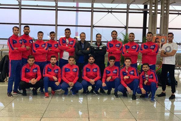 تیم ملی کاراته ایران راهی مسکو شد
