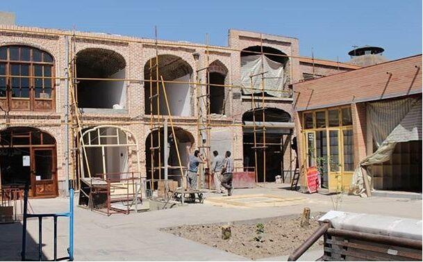 ایمن سازی برق سرای ایکی قاپیلار بازار تبریز