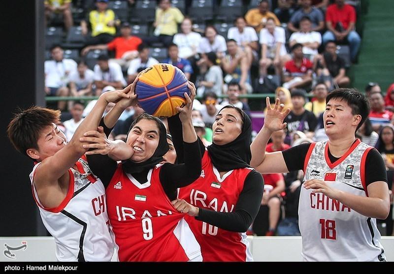 صعود بسکتبال سه نفره بانوان به جمع 8 تیم برتر جام جهانی