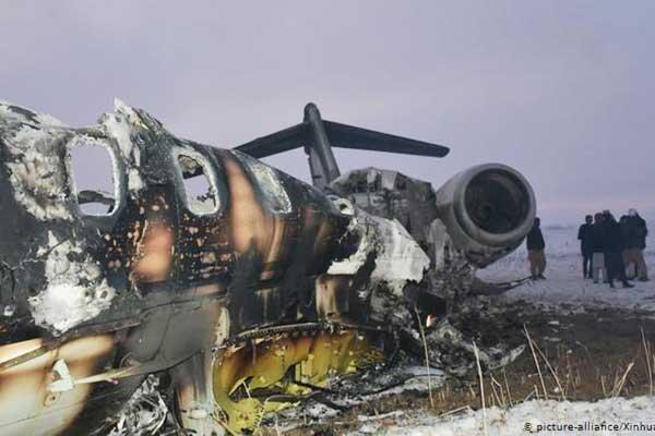 ادعای آمریکا درباره مشخص هویت اجساد هواپیمای ساقط شده در افغانستان