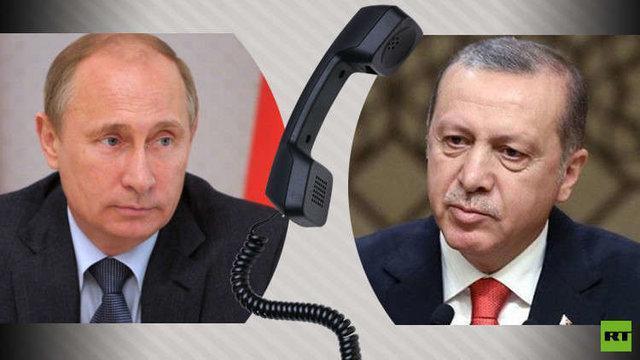 گفتگوی تلفنی پوتین و اردوغان، لاوروف: ارتش سوریه حق دارد با تروریست ها در ادلب بجنگد