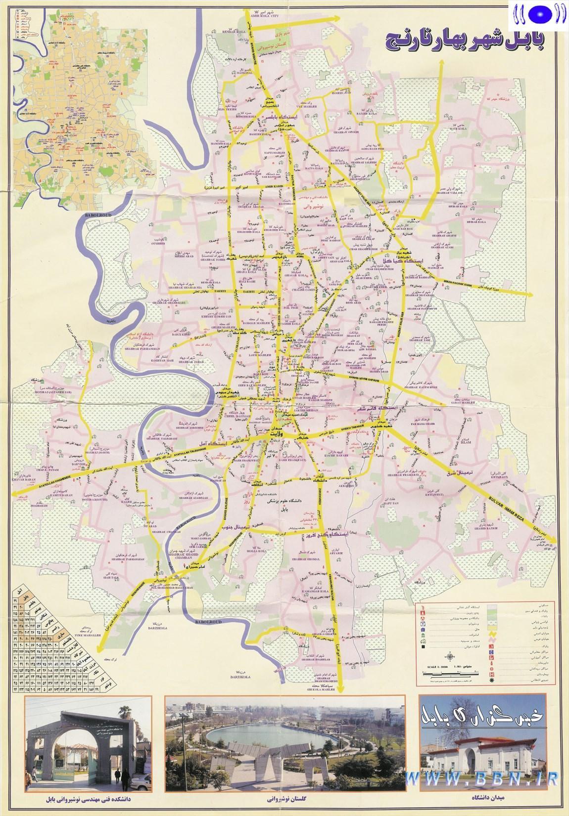 تاریخچه و نقشه جامع شهر بابل در ویکی خبرنگاران