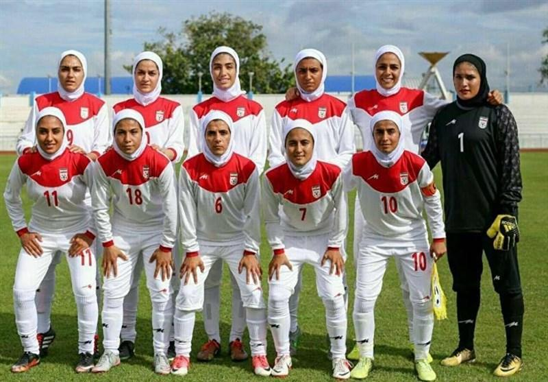 صندلی فوتبال بانوان ایران در تازه ترین رده بندی فیفا تغییر نکرد