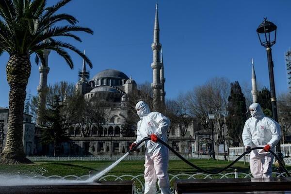 جهش 2 هزار نفری مبتلایان به کرونا در ترکیه ، آمار فوتی ها هم بالا رفت