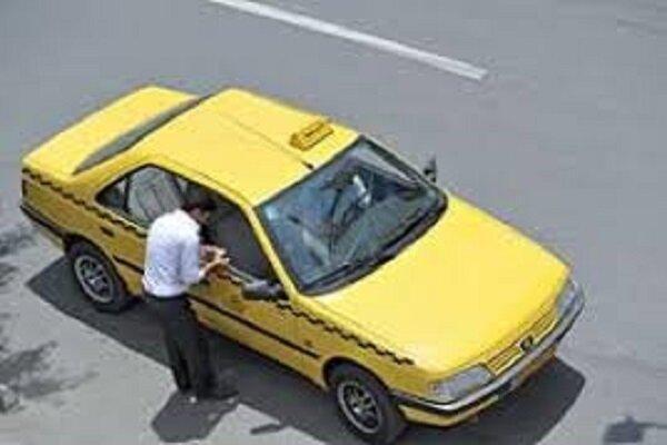 سفره های کوچک و خالی رانندگان تاکسی