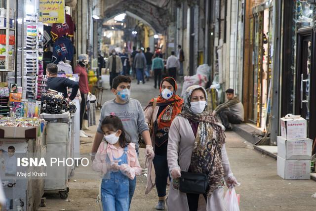 تذکر فرماندار اهواز به اصناف متخلف در حاشیه بازدید از بازار