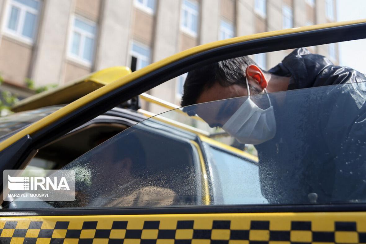خبرنگاران اجباری شدن ماسک برای مسافران درون شهری اسفراین