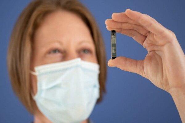 رصد قلب بیماران با حسگر بلوتوثی