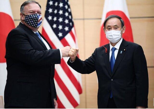 تمجید پمپئو از نخست وزیر جدید ژاپن